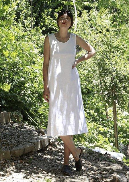 Me & Arrow Sleeveless Dress - White