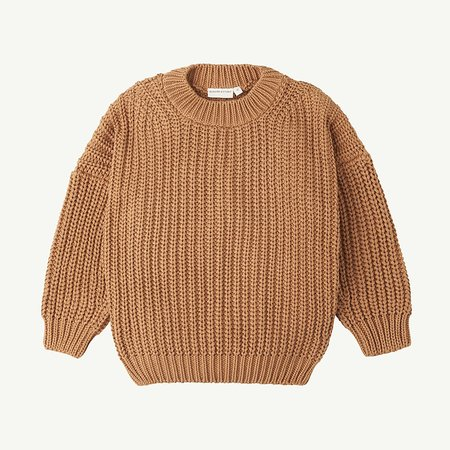 Kids Summer & Storm Chunky Pullover - Tan