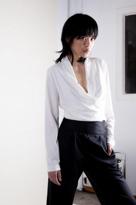 Rachel Mills Adrienne Top - Off White