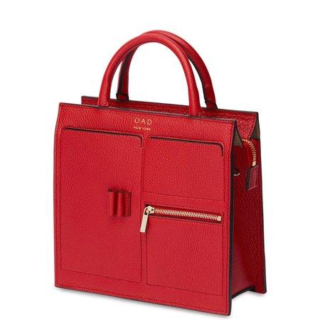 OAD Mini Kit Zip Satchel - Rouge