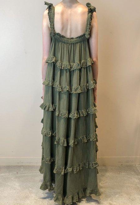 Devotion Gest Maxi Dress - Chaki