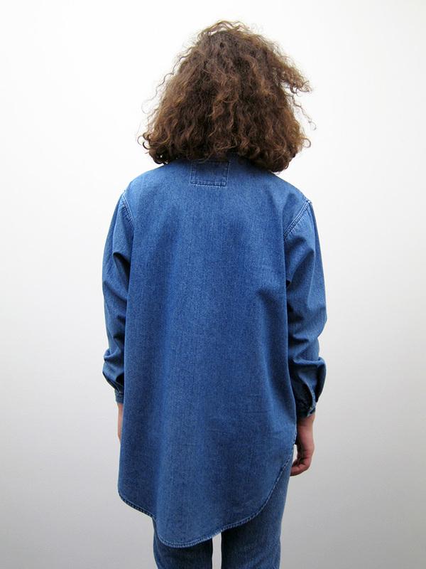 69 Stevie Shirt, Medium Denim