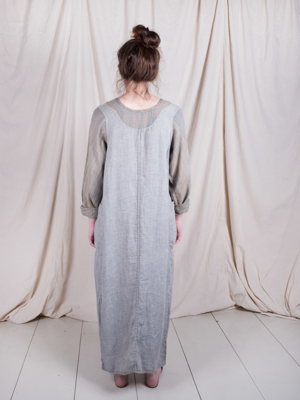 DUO NYC Vintage Linen Layered Dress