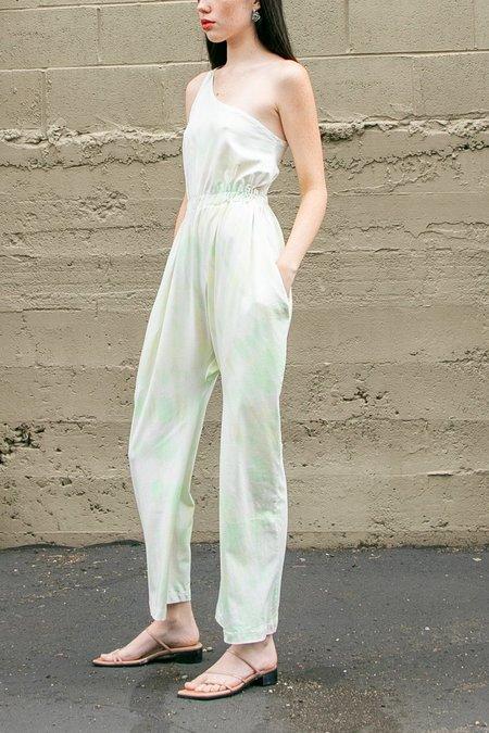 323 Lola Jumpsuit - Algae Tie Dye