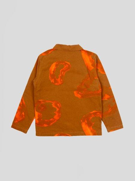 Stussy Printed Chore Coat - Clay