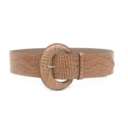 B-LOW THE BELT Maura Belt - Almond Croco