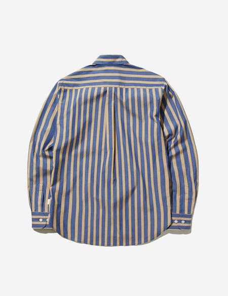 Sentibones Striped Shirts - Mustard