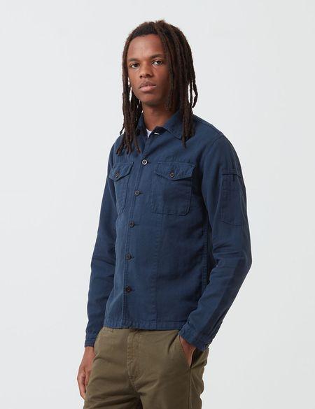 Portuguese Flannel Champ Jacket - Blue