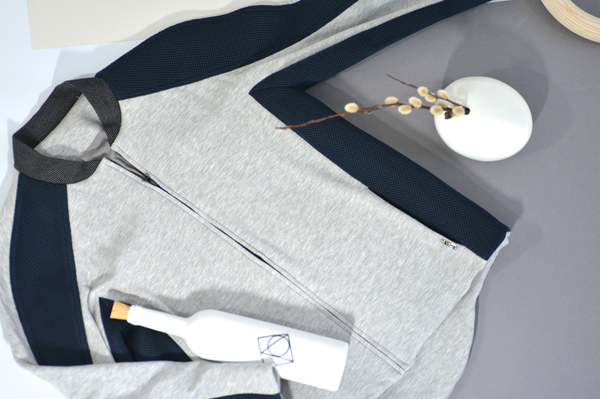 Embed Jacket: Heather Grey