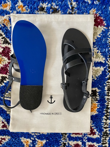 KYMA Elafonisos Sandals - Black
