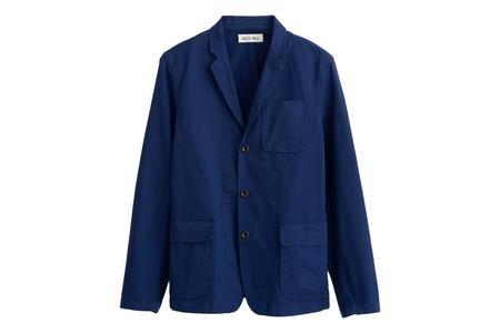 Alex Mill Mill Cotton Twill Blazer - Navy