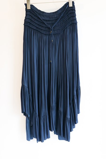 [Pre-loved]  Ulla Johnson Edie Skirt - Navy