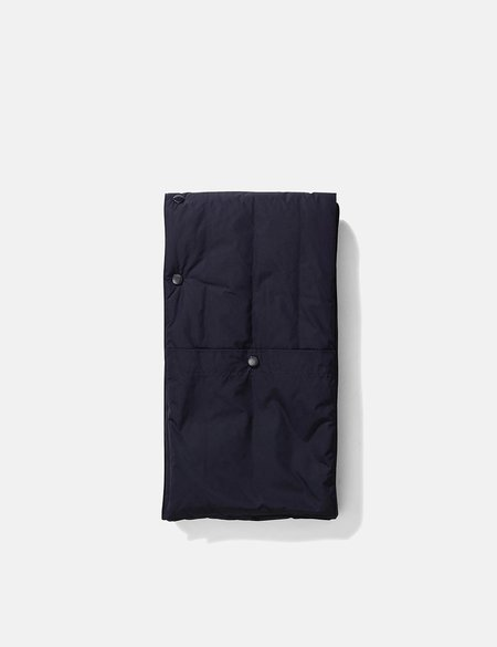 Norse Projects Snap Quilt Scarf - Dark Navy Blue