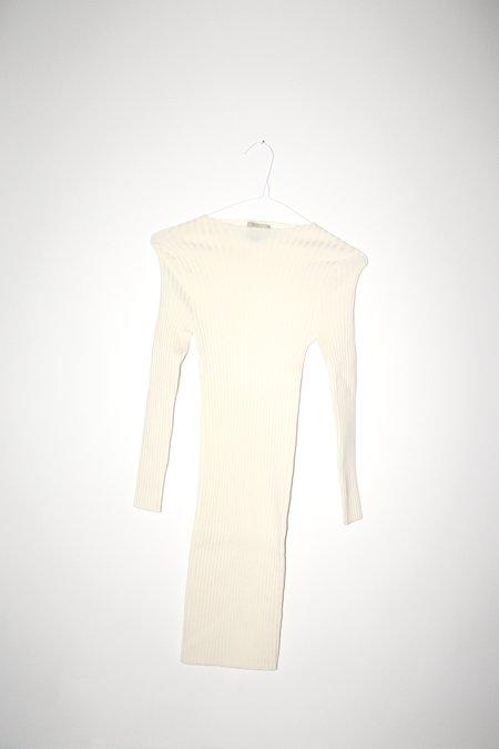 giu giu Nonna Jewel Dress - Ivory