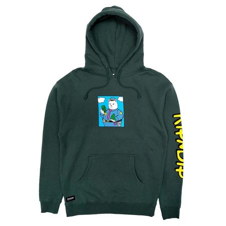 RIPNDIP Confiscated Hoodie - Hunter Green