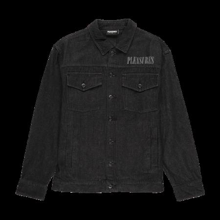 PLEASURES Desire Trucker Jacket - Black