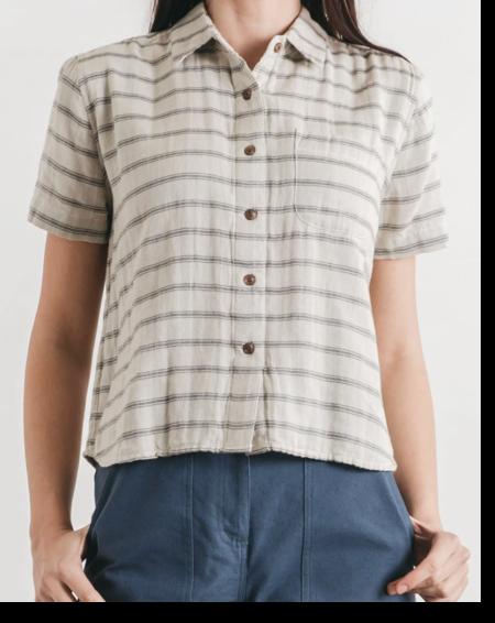 Bridge & Burn Greer Double Cloth Shirt - Stripe