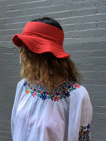 Alexa Stark Small Floppy Hat - Red