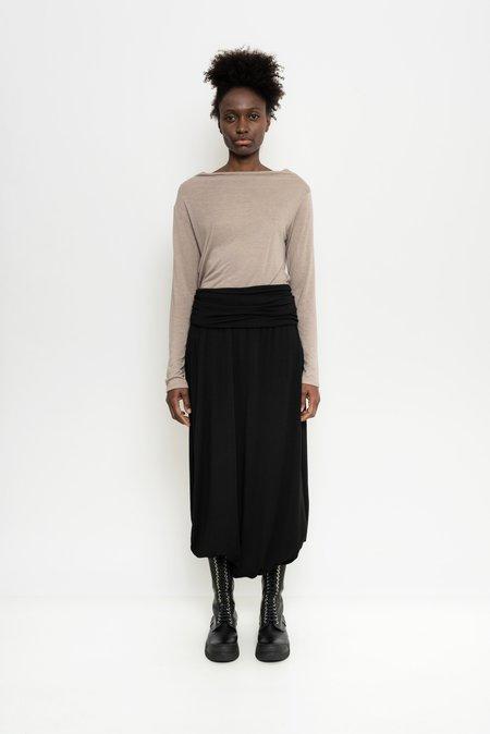 Uma Raquel Davidowicz Wool Stretch Culottes Georgia - Black