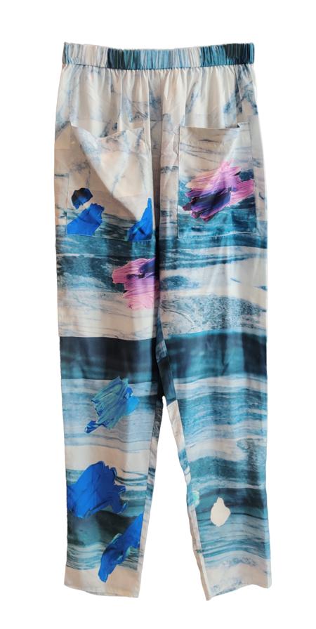 FFIXXED STUDIOS Home Body Trouser - Marble Print