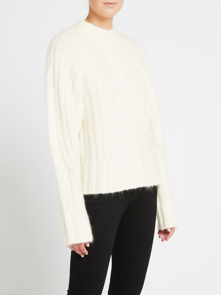 Camilla and Marc Alistair Knit Top - Ivory