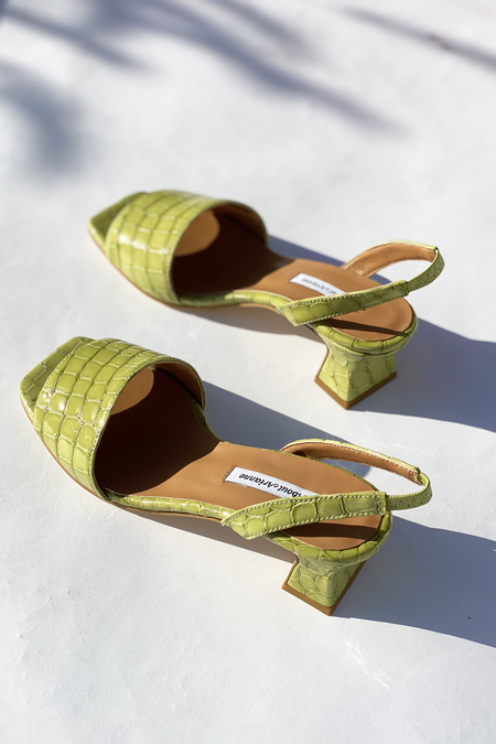 About Arianne Joan Leather Sandals - Plant