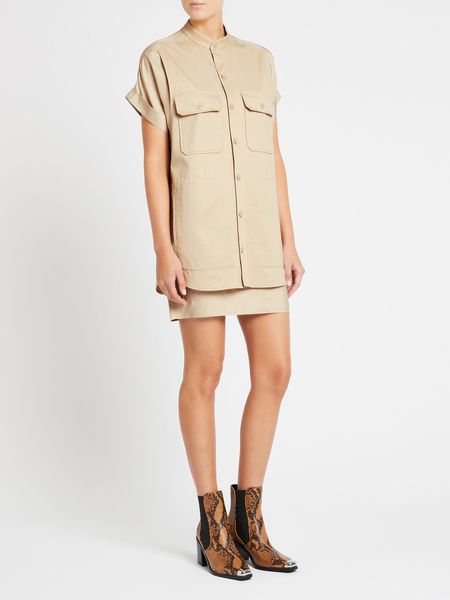 Equipment Acaena Dress - Beige