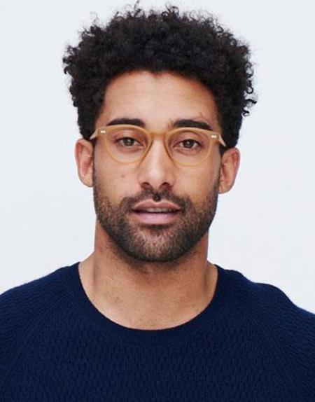 unisex Look Optic Blue Light Glasses - Black