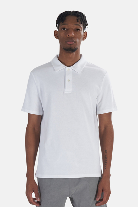 Wheelers.V Riviera Polo Top - White