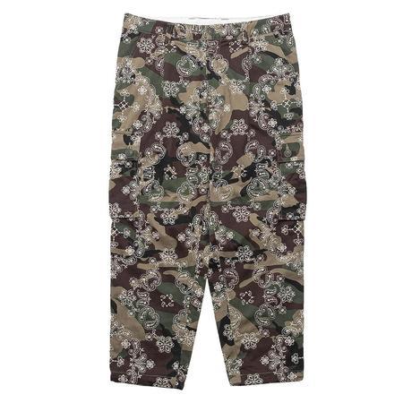 Clot Embroider Paisley 6 Pocket Pants - Camo
