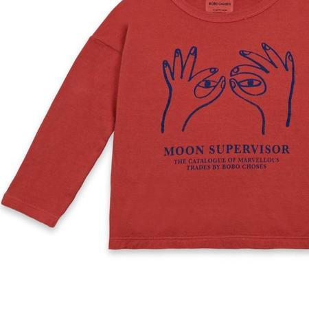 Kids Bobo Choses Moon Supervisor Long Sleeve T-Shirt