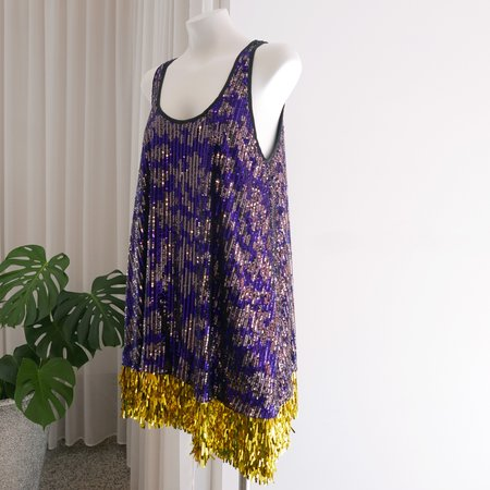 Rachel Comey Styx Dress Cascade - Purple