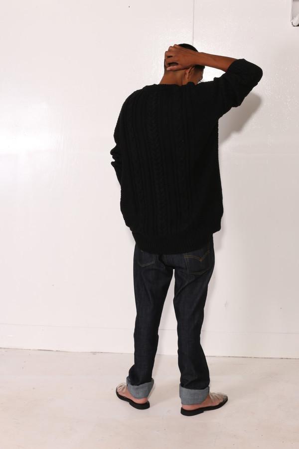 Unisex Intentionally Blank BACOPA SWEATER Black