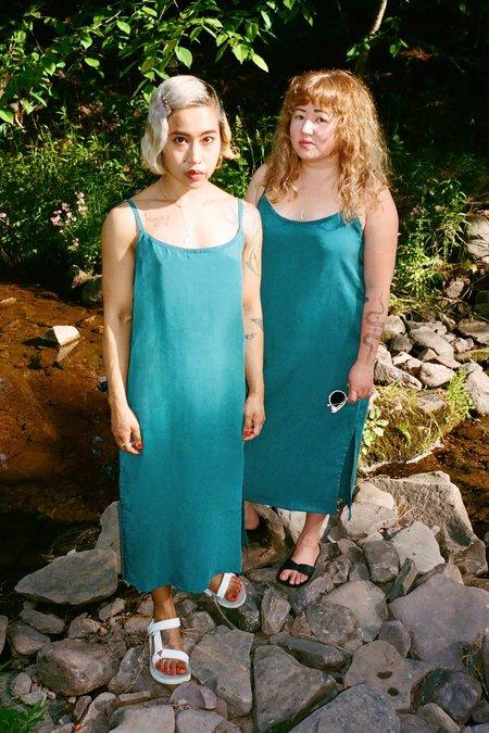 togethersegal Marie Slip Dress - Moroccan Blue