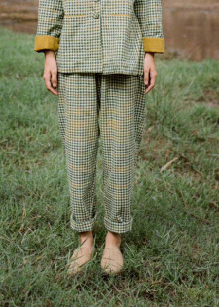 Nandni Studio Power up pants - Green
