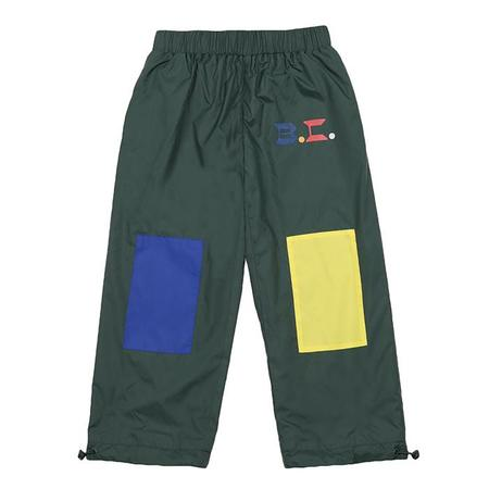 Kids Bobo Choses Outerwear Pants With Patches - Green