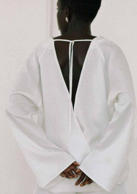 Shaina Mote Arcos Top - White