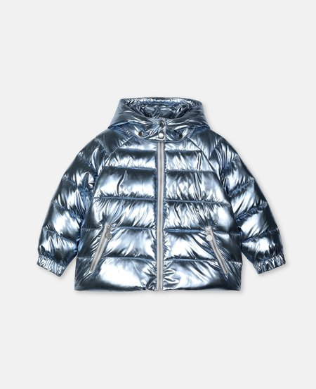 Kids STELLA MCCARTNEY Metallic Puff Coat
