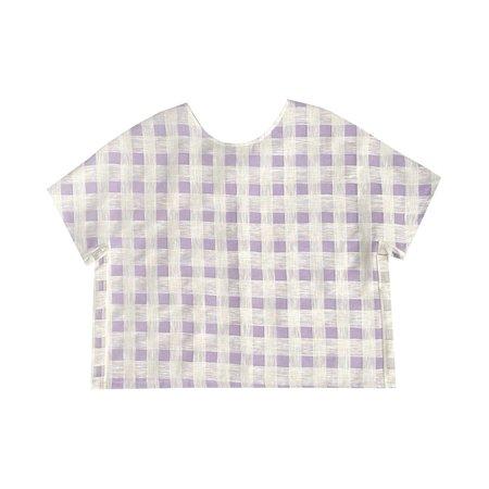 Paris 99 Two Layer T-shirt - Lilac/Cream