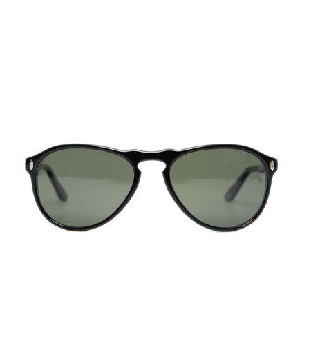Dom Vetro X Freemans Sporting Club F34 Sunglasses - Jet Black
