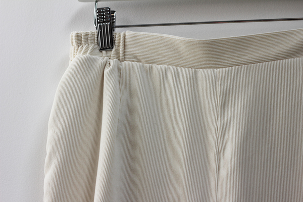 Hey Jude Ivory Cord Trousers