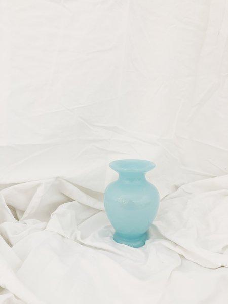 Vintage Fenton Vase - Blue