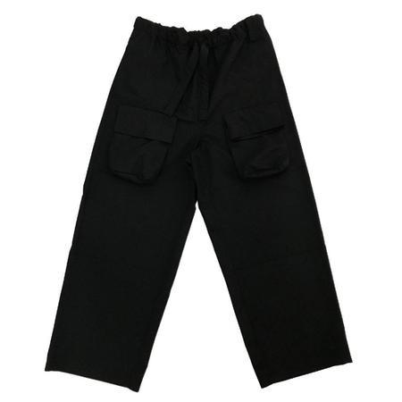 N.Hoolywood Wide Easy Pants - Black