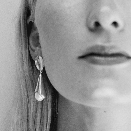 Sophie Buhai Pearl Anna Earrings - Silver