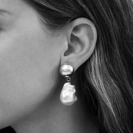 Sophie Buhai Silver Pearl Francis Earring - Silver
