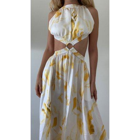 Cult Gaia Theia Dress - Yellow