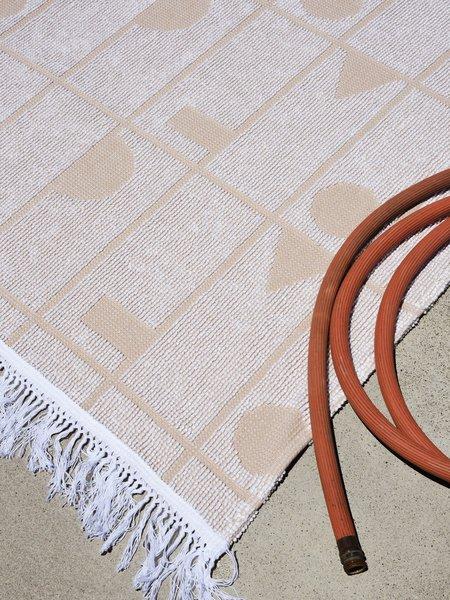 Merchant Home Stencil Throw - Sand