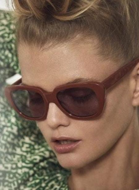 Carla Colour Gloria Sunglasses - Annatto/Orchid