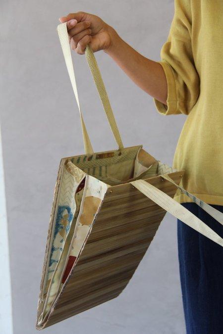 ALOJA straw silk 11.11. Beach Straw Bag