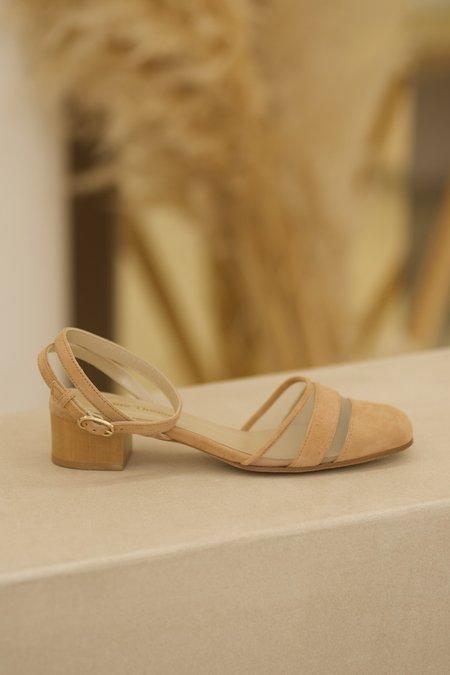 Anne Thomas Babylone sandals - Peach Pie